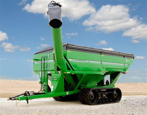 treme grain carts  front folding auger unverferth grain handling