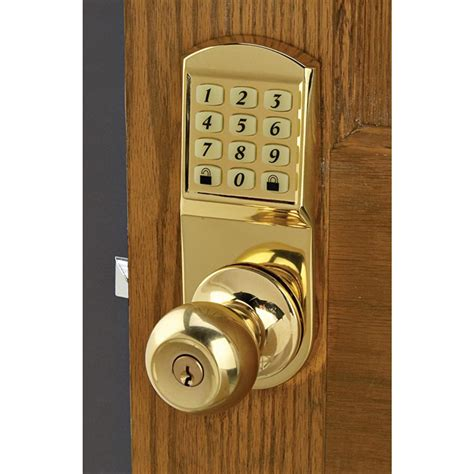 Door Knob Keyless Entry System 120069 At Sportsman S Guide Keyless Entry Front Door