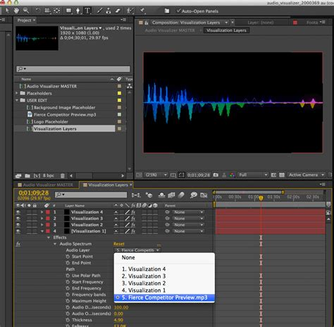 tutorial after effect project free after effects project audio visualizer tutorial