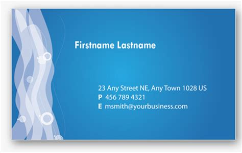 50 Free Photoshop Business Card Templates Personal Cards Templates Free