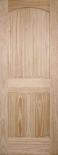 8 Panel Interior Wood Doors by Discount 6 8 Quot 2 Panel Arch V Groove Pine Interior Wood Door Slab