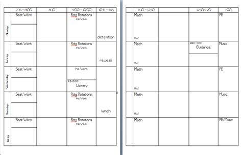 plan book template word in may 2012