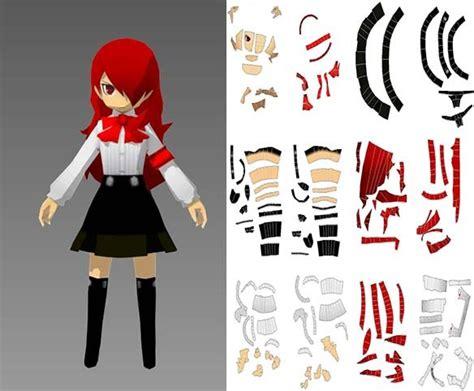 Persona Papercraft - mitsuru kirijo persona 3 papercraft by dakenso on deviantart