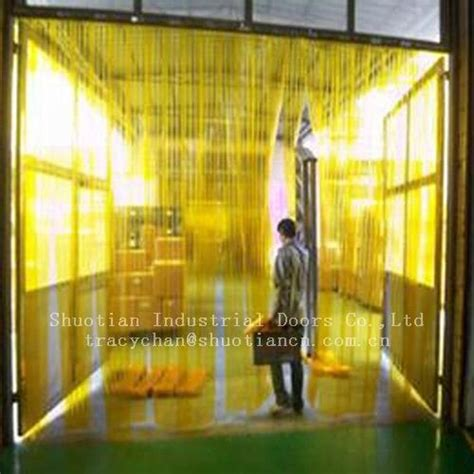 plastic curtain for cold room cold room pvc strip curtain st 0033 shuotian china