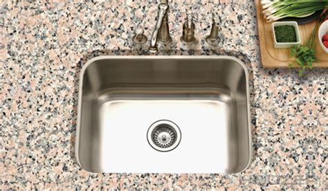 Kitchen Sink Sts Houzer Eston Undermount Single Bowl 18g Sts 1300 1 Stainless Sinks Stainless Steel Sinks