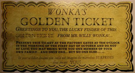 willy wonka ticket template original willy wonka golden ticket book covers