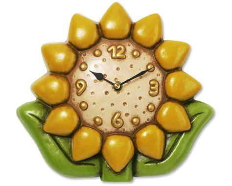 cornici della thun orologio da parete girasole thun