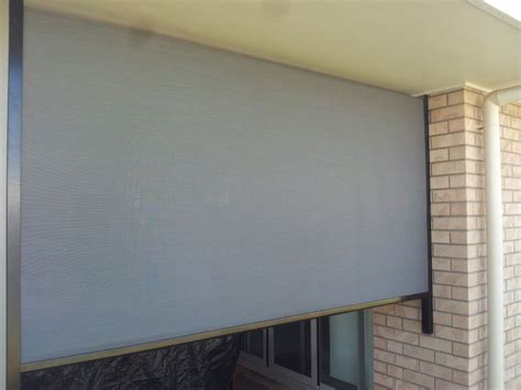 Patio Shutters Blinds by Roller Shutters Blinds Mackay Patio Blind Looking In