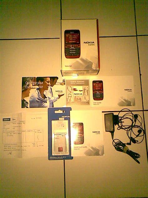 Termurah Nokia E63 Garansi 1 Bulan jual nokia e63 hacked 2 baterai ori blogsiinengce