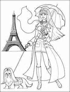 printable cute coloring pages girls color zini