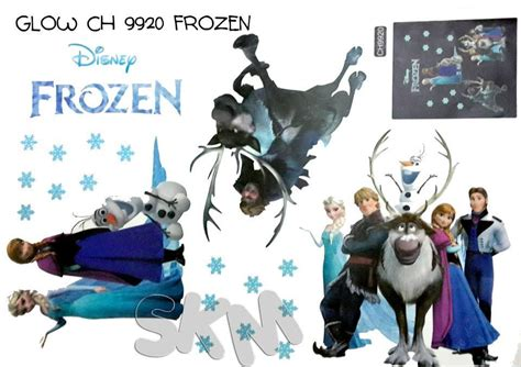 wallpaper dinding frozen murah jual stiker dinding glow in the dark stiker dinding murah