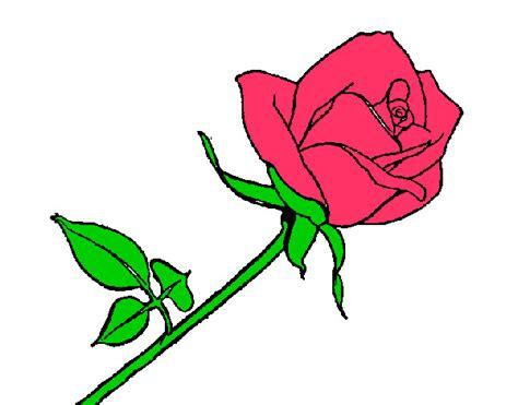 imagenes bonitas para dibujar pintadas dibujo de rosa pintado por nickcris en dibujos net el d 237 a