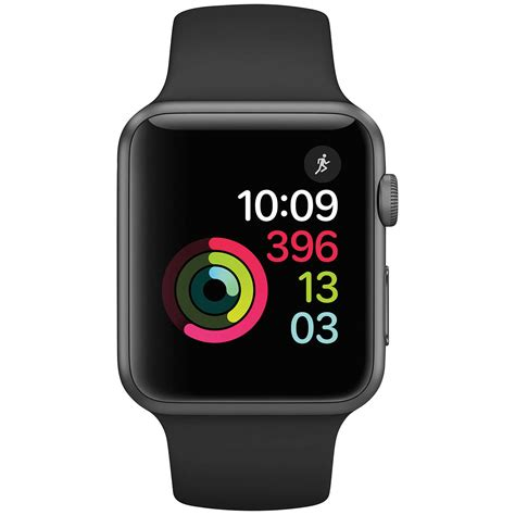 Termurah Apple 2 Series 1 Aluminum Black Sport Band 42mm apple series 1 42mm space grey aluminium with