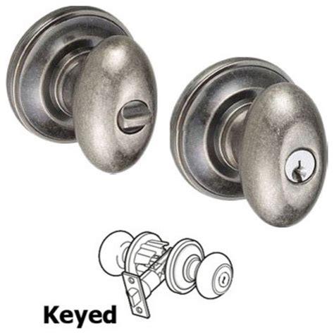 door knobs by fusion door hardware keyed egg knob entry