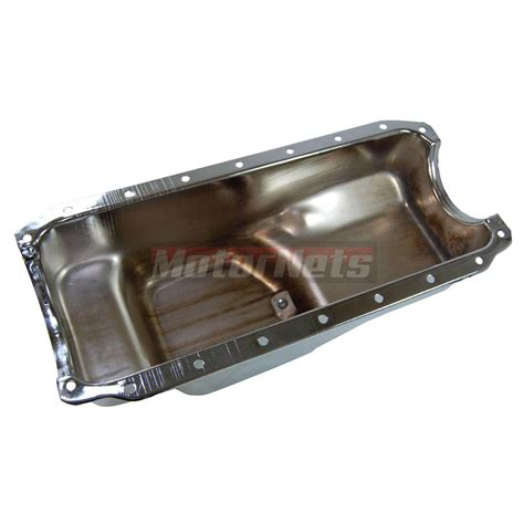 71 80 chrysler mopar small block pan chrome steel sb