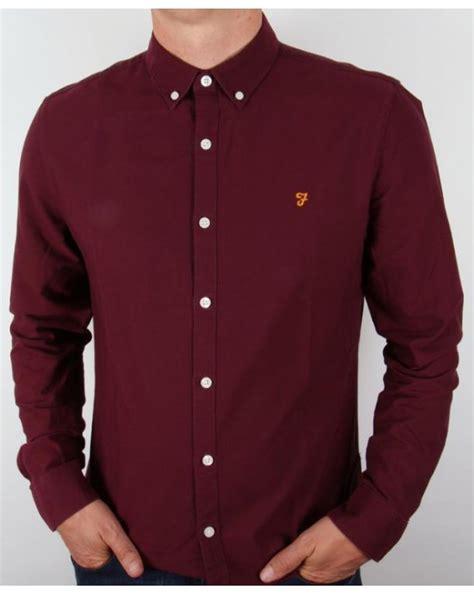 Original Lois Sleeve Shirt Kemeja 6lhfid farah vintage brewer sleeve shirt burgundy farah brewer sleeve shirt