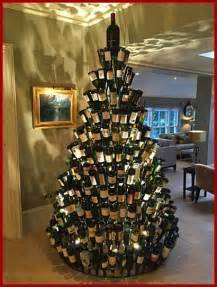 best 25 wine bottle christmas tree ideas on pinterest