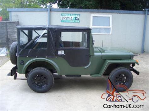 Jeep Kit Car Jago Jeep Kit Car Willys Style Nato Green New Mot