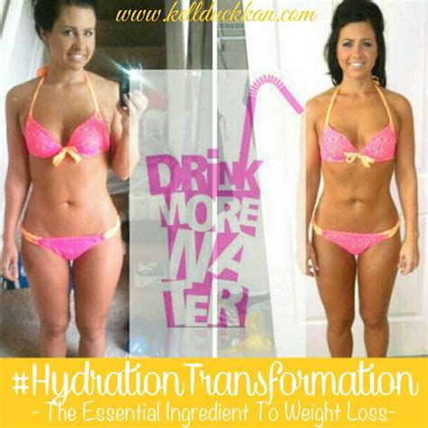 water weight loss challenge take the hydrationtransformation challenge and your