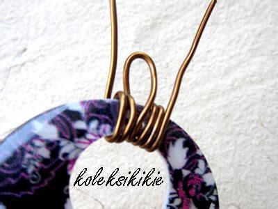 membuat donat lukis membuat liontin kerang wire koleksikikie