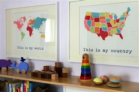usa maps in rooms room kidspace interiors