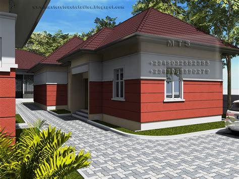 houses with in quarters poultry design 3 bedroom bungalow plus a boys quarters
