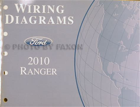 2010 ford ranger wiring diagram manual original