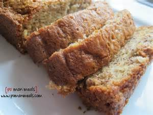 How To Make Banana Nut Bread In A Bread Machine Po Meals Moist Banana Nut Bread