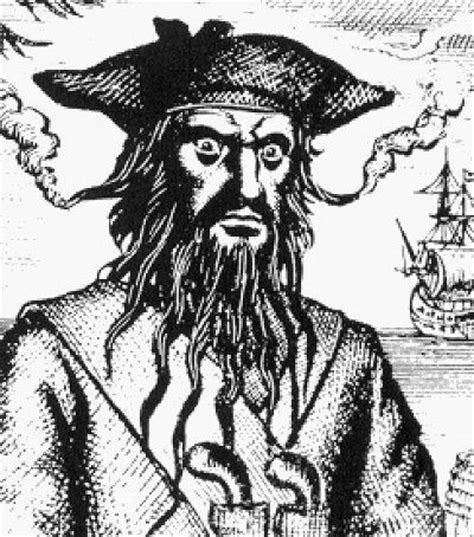 was blackbeard real famous pirates in history blackbeard edward teach