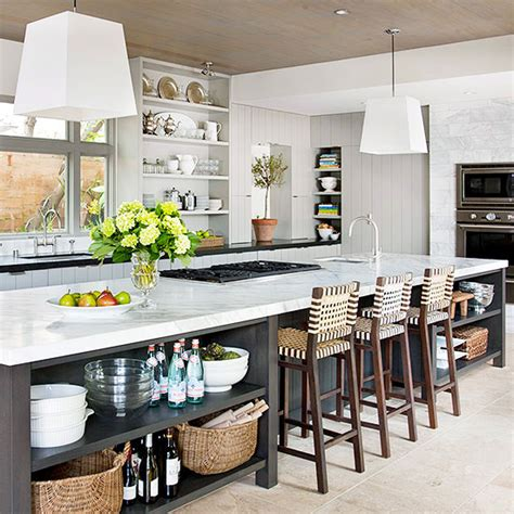 space for kitchen island kitchen islands