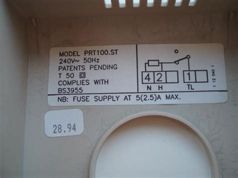 central heating room thermostat wiring diagram circuit