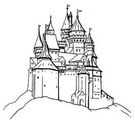 castle coloring pages castle coloring pages coloringpages1001