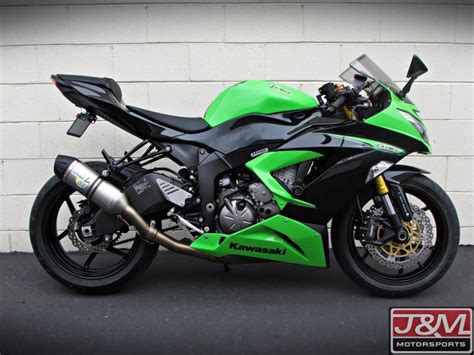 2013 Kawasaki Zx6r 636 by 2013 Kawasaki Zx 6r 636 Abs For Sale J M Motorsports