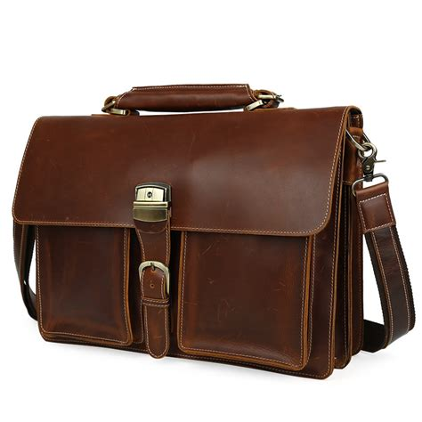 Handmade Laptop Bags - s handmade leather briefcase leather messenger bag