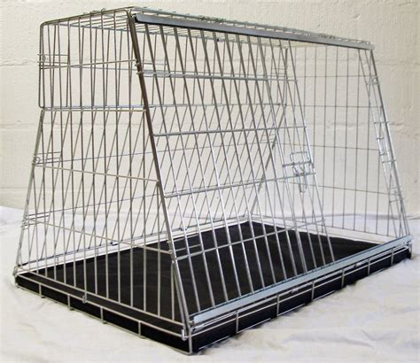 puppy cage ford car cage pet travel transport create puppy car safety carrier ebay