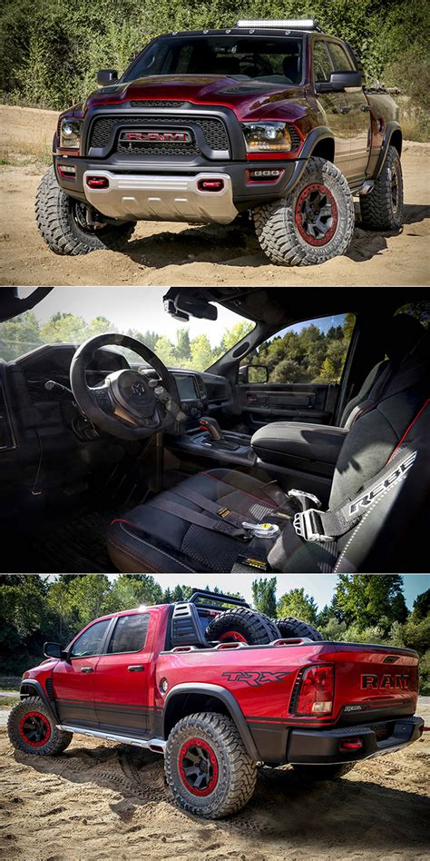 Ram Rebel Horsepower by Dodge Ram Rebel Trx Concept Is Powered By Supercharged