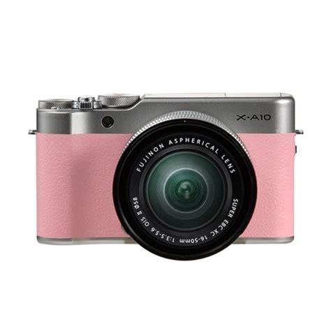 Kamera Fujifilm fuji xa 10 16 50 pink fujifilm xa 10 16 50mm pink xa 10 xa10 resmi sd 2ed029fe
