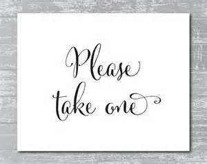 take one template 8 best images of take one sign printable free