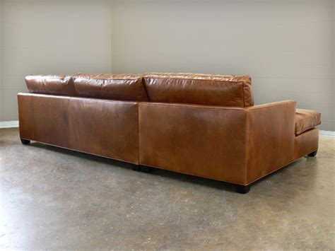 arizona leather sectional sofa with chaise product video