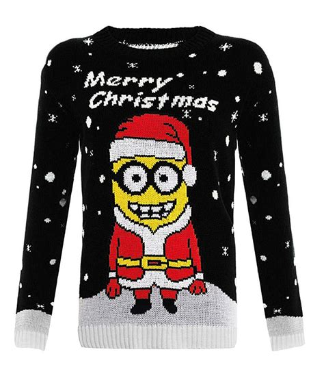 Minion 8 Sweater By Tukuostore womens knitted sleeves minion