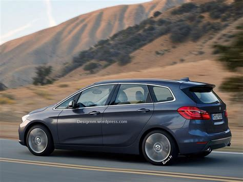 bmw 2 series active tourer 7 seater rendered autoevolution