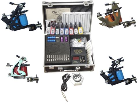 tattoo machine equipment discount code permanent makeup tattoo supplies 4 guns tattoo machine