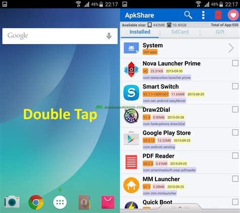 android tutorial gesture detection how to launch apps w gesture on your android device