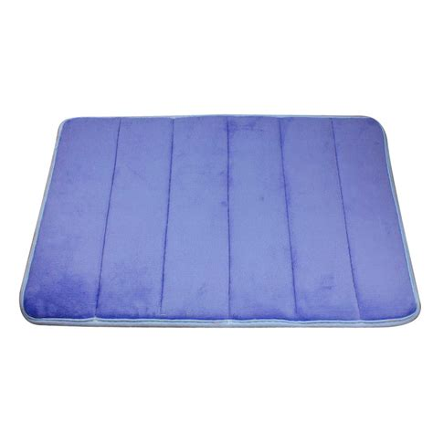 bathroom rugs vertical stripes memory foam mat carpet floor mats bath elegant ebay