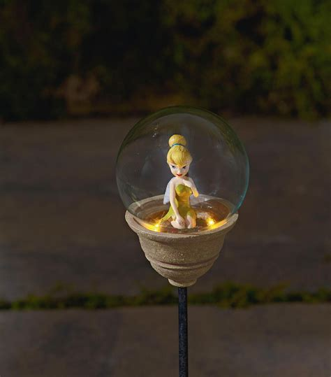 Disney Tinkerbell Solar Garden Stake Light The Way With Sears Light Tinkerbell