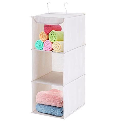 Closet Accessory Organizer by 22 Hanging Closet Organizer Maidmax 3 Shelf