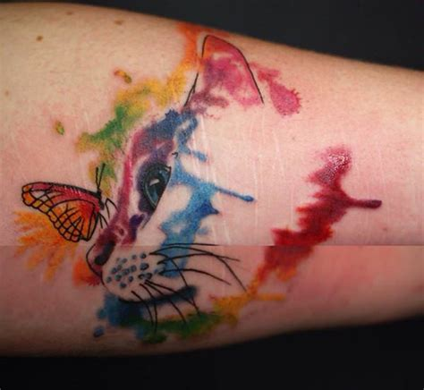 butterfly kitten tattoo 95 gorgeous butterfly tattoos the beauty and the significance