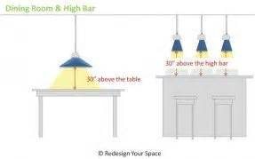 Dining Table Pendant Height Dining Table Unique Dining Table Height Design Ideas Bar