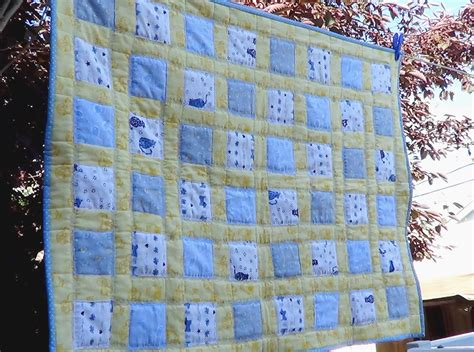 Flannel Baby Quilt by Easy Flannel Baby Quilt Favequilts