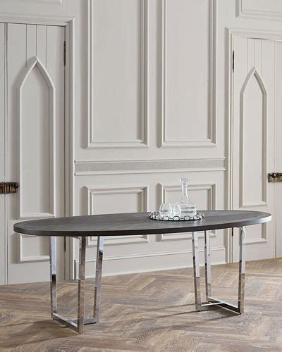 Mk Donabella dining tables outdoor glass top dining table at neiman
